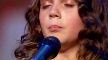 Ta dziewczynka ma wyjatkowy glos. Posłuchajcie koniecznie!