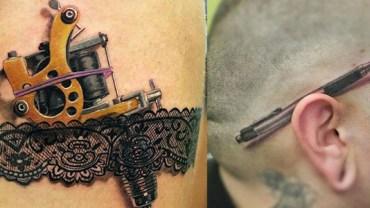 10 tatuaży 3D, które na pewno zapadną Ci w pamięć!