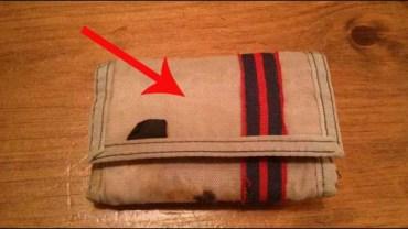 Ten portfel 24 lat temu zaginął w oceanie. Niedawno wrócił do właściciela!