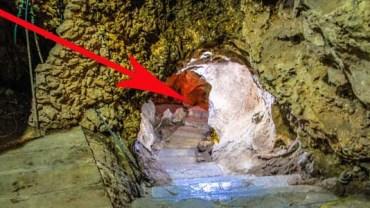 Nigdy nie zgadniesz, co znajduje się w tej jaskini na obrzeżach miasteczka. Podpowiedź: Nie jest to potwór.