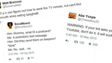 11 tweetów, które udowadniają, że dzieciaki dziś są totalnie oderwane od przeszłości