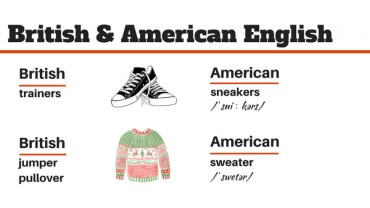 British vs American English. Poznaj różnice!