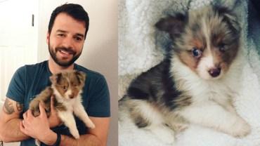Mężczyzn adoptował jednookiego psa, powód dla którego to zrobił jest wzruszający!