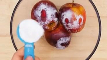 Prosta czynność, którą powinieneś wykonać przed każdym zjedzeniem jabłka. Od dziś zastanowisz się dwa razy, zanim sięgniesz po to nieumyte!