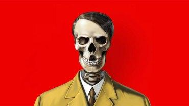 Bezwzględny dyktator u władzy jest kostuchą własnego narodu, o czym przypomina azerbejdżański artysta