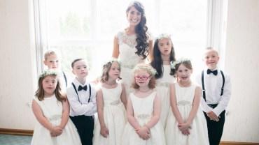 Nauczycielka zaprosiła na swój ślub niezwykłych gości