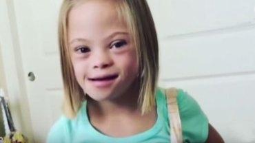 7-letnia Sofia zapytana o zespół Downa, na który choruje, udzieliła bardzo zaskakującej odpowiedzi. Nigdy nie zgadniecie, co powiedziała