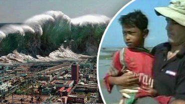 Chłopiec cudem przeżył potężne tsunami. To, w co był ubrany, zwróciło uwagę całego świata!