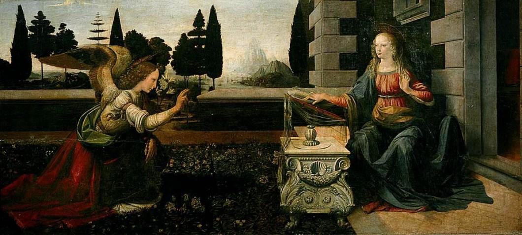 Pierwszy obraz Leonarda da Vinci kryje pewien sekret! Tylko nieliczni zwrócili uwagę na to dziwne drzewo i odkryli, czym jest naprawdę