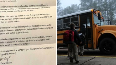 Kierowca szkolnego autobusu widząc zachowanie pewnego rodzeństwa, nie wytrzymał i napisał list do rodziców dzieci. Co takiego chciał im powiedzieć?