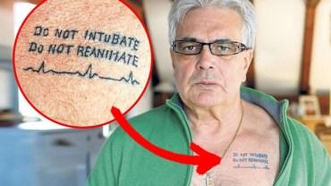 Ten tatuaż jest popularny wśród lekarzy. Gdy się dowiesz, dlaczego go robią, możliwe, że się na niego zdecydujesz!