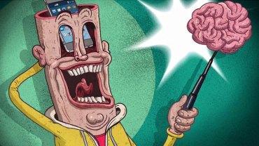 Te ilustracje angielskiego artysty to brutalnie szczery portret współczesnego świata. Ich trafność przeraża i skłania do poważnej refleksji