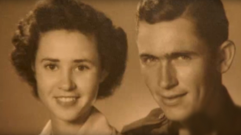 Her husband disappeared without a trace six weeks after the wedding. 70 years later she learned the truth about what happened 2