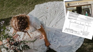 Pralnia zgubiła jej suknie ślubną, która była w jej rodzinie od pokoleń. Gdy straciła nadzieję, że się odnajdzie, stał się cud!