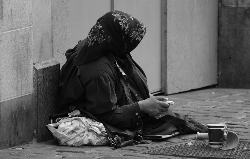 Occupation: beggar. This man doesn't have any desire to work, he would rather put out his hand and pretend to be homeless! 2