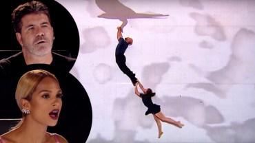 Teraz ciężko zaskoczyć sędziów w talent show, ale ta para zrobiła coś, czego nikt do tej pory nie próbował