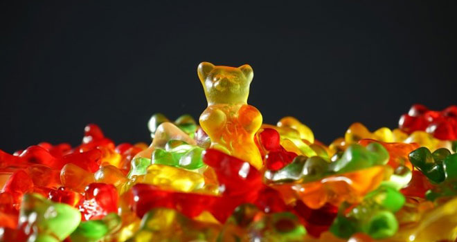 This movie scared all Haribo gummy bear fans. Nobody thought that the colorful bears are created in such an awful way! 2