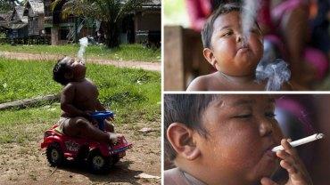Pamiętacie 2-letniego chłopca z nadwagą, który wypalał 40 papierosów dziennie? Sprawdźcie, jak potoczyły się jego losy
