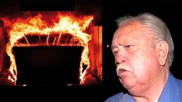 Chcieli spalić zwłoki mężczyzny, jakież było ich zdziwienie, gdy zamiast ciała zaczęło płonąć krematorium…