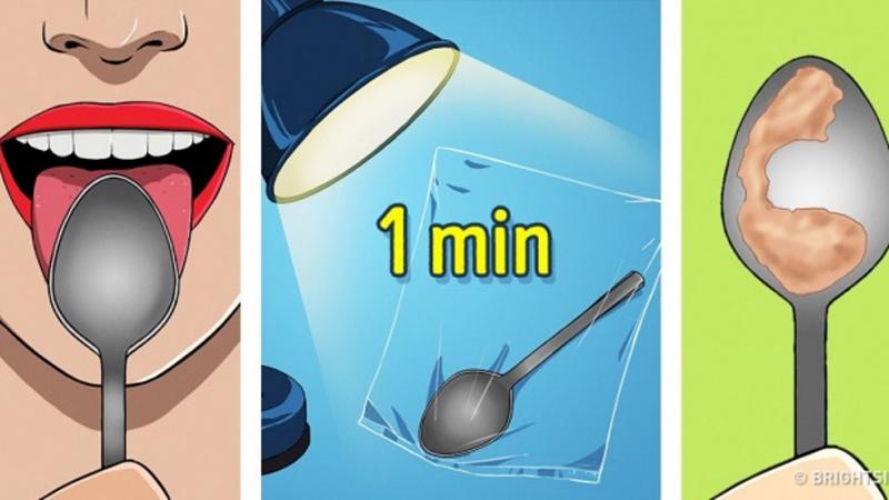 Sprawdź, w jakim stanie są twoje organy. Wystarczy minuta i ten prosty sposób z wykorzystaniem łyżki!