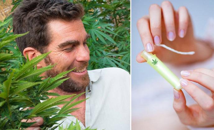 Amerykanie wynaleźli tampony łagodzące bóle miesiączkowe. Za redukcję skurczów ma odpowiadać...marihuana. Kupiłybyście?