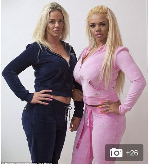 Matka i córka wydały ponad 60 tysięcy funtów, by być tak sztuczne i plastikowe jak Kate Price! Co gorsza, to nie koniec ich metamorfozy