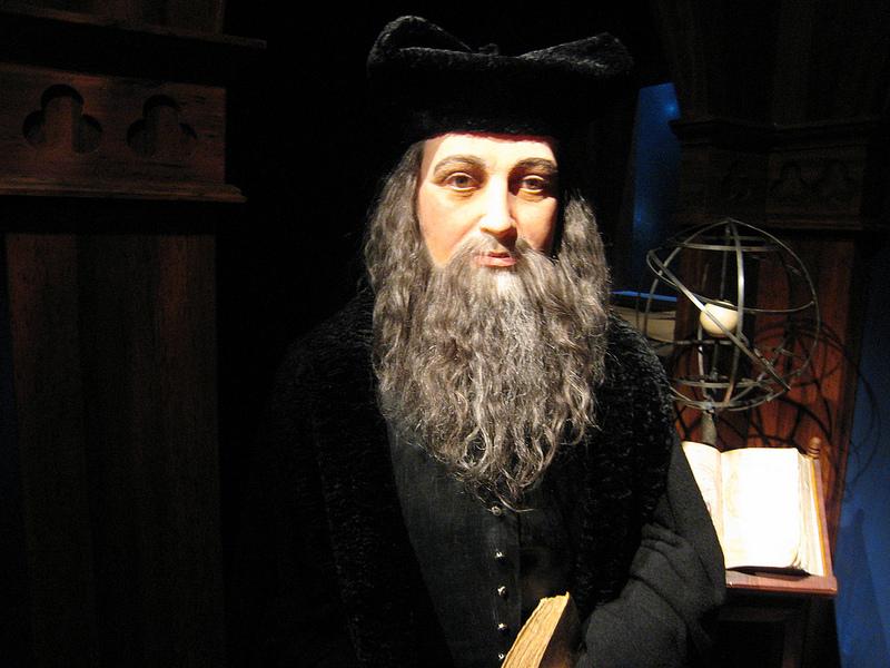 Nostradamus stworzył okrąg numeryczny, który pozwala poznać odpowiedź na każde pytanie! Wypróbujcie i sami oceńcie skuteczność tego XVI-wiecznego wynalazku