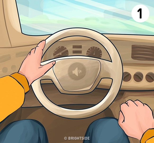 The way to hold the steering wheel in a car is not accidental and says a lot about the character of a person! Check to see if you are a perfectionist, a rationalist, a lazy person, or a restless spirit 4