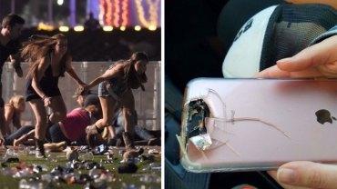 iPhone uratował kobiecie życie podczas masakry w Las Vegas! Kula cudem trafiła w aparat i dziewczyna zdążyła uciec z linii strzału