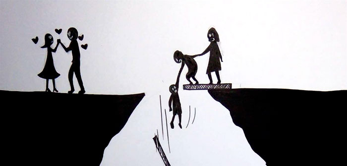What does divorce do to a family? These simple illustrations not only answer this question, but also encourage deep reflection! 4