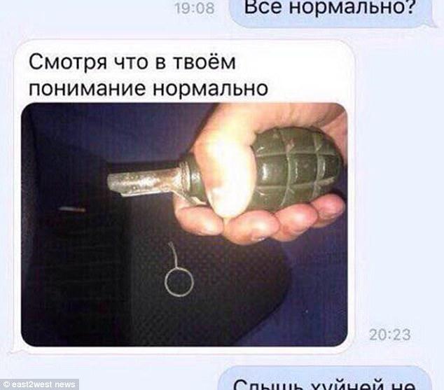 Sasha marzył o wystrzałowym selfie. Wziął więc do ręki granat i go odbezpieczył. Myślał, że nie wybuchnie, póki go nie podrzuci