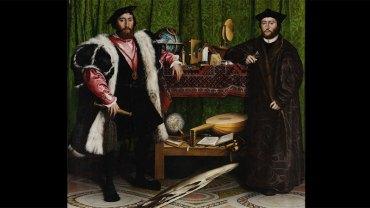 Ten obraz od ponad 500 lat wprawia ludzi w osłupienie! Czym jest dziwny podłużny przedmiot na pierwszym planie?