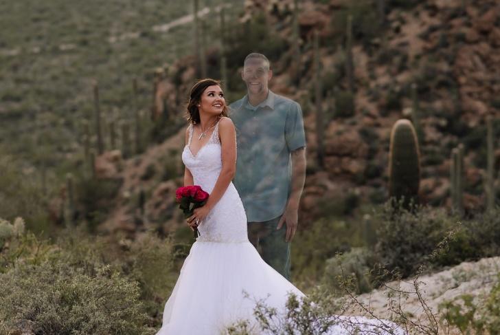 Kobieta opublikowała zdjęcia ze ślubu, który nigdy się nie wydarzył. Wszystko po to, by przekazać bardzo ważną wiadomość innym
