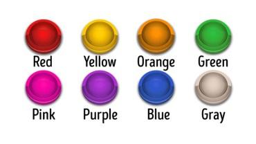 Który przycisk wybierzesz, żeby zmienić swoje życie na lepsze? Wybierz kolor przycisku, a dowiesz się, czym dla ciebie jest szczęście