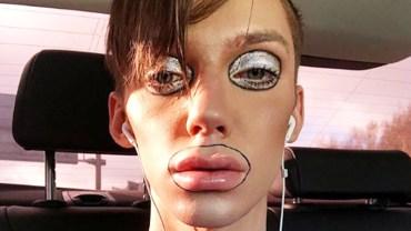 """""""Mój codzienny makijaż trwa 2 godziny!"""" Ten facet jest wzorem dla innych. Rozumiecie jego fenomen?"""