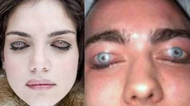 Ci wariaci robią sobie tatuaże na powiekach! Nie wiadomo czy śmiać się, czy płakać?