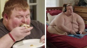 """Waży 320 kilogramów i nie zamierza przechodzić na dietę. """"Będę jadł, póki nie umrę"""" - grozi"""