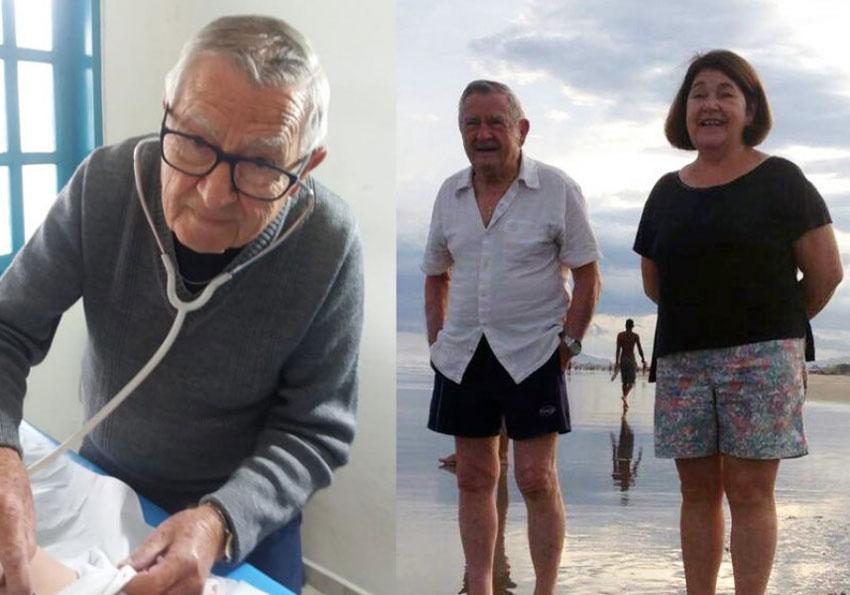 """92-letni pediatra leczy dzieci za darmo. """"Będę pracował, póki moje ciało daje radę"""" - mówi"""