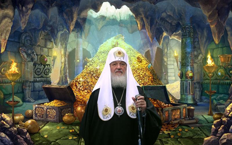 Patriarcha Cyryl płynie do nieba jachtem za 4 miliony! Obrzydliwie bogaty duchowny ma własne przykazania