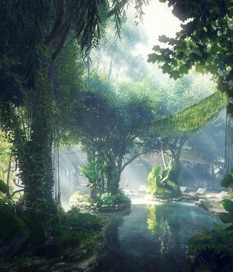 W Dubaju powstaje luksusowy hotel z amazońską dżunglą. Jego wnętrza zwalają z nóg!