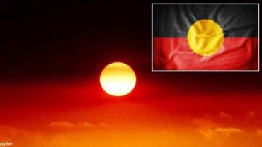 Pożary zmieniły australijskie niebo w aborygeńską flagę. Czy duchy eksterminowanych przodków chcą coś powiedzieć?