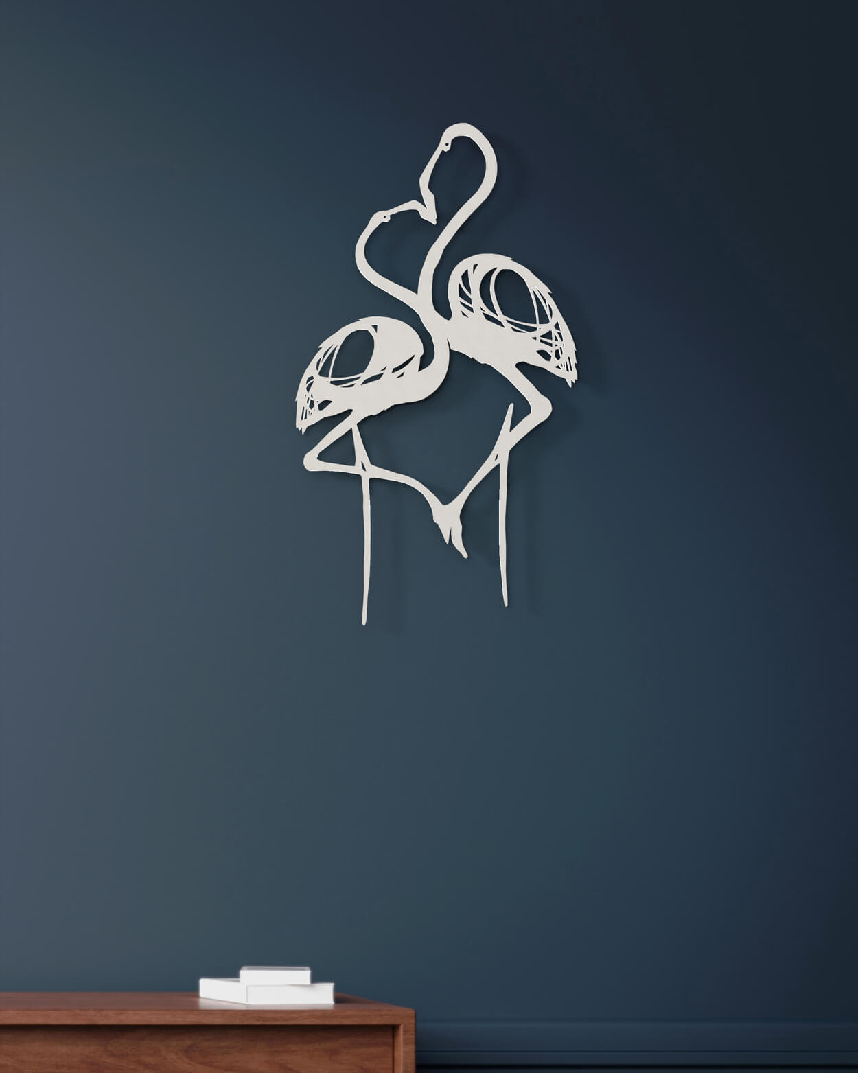 flamant rose couple one line