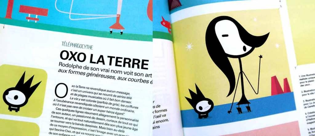 Illustrateur dans le magazine Computer Arts