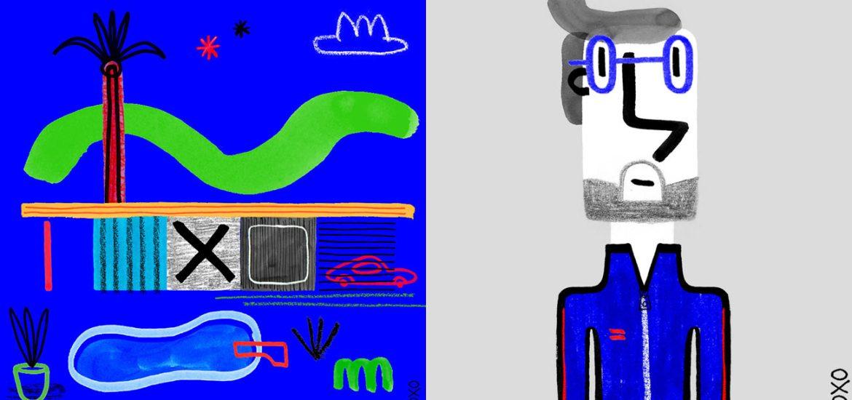 Illustration en couleur