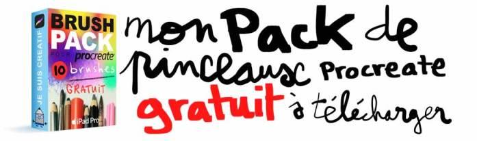 Pack Pinceaux Gratuit