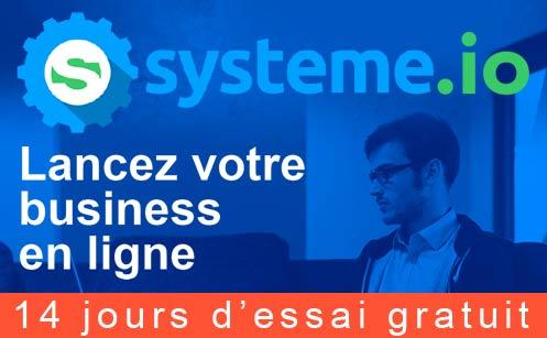 Systeme.io, le logiciel de web marketing