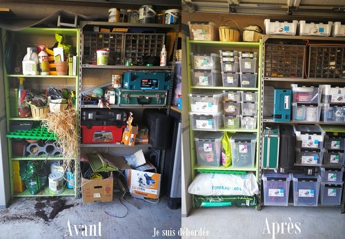 mon garage avec orthex smartstore