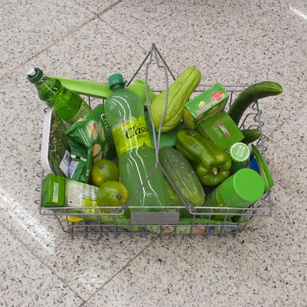 Groen! Groene dingen kopen.