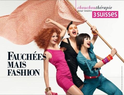 Fauchées mais fashion !