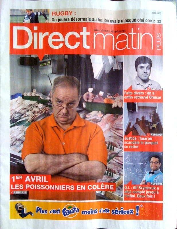Direct matin - 1er Avril